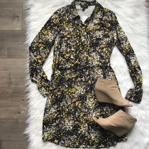Jessica Simpson Emerson floral dress size Small